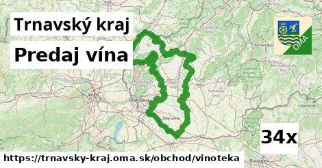 predaj vína v Trnavský kraj