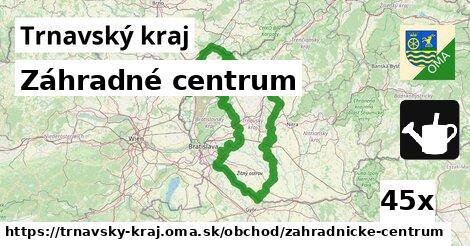 záhradné centrum v Trnavský kraj