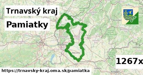 pamiatky v Trnavský kraj