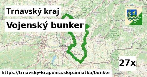 ilustračný obrázok k Vojenský bunker, Trnavský kraj