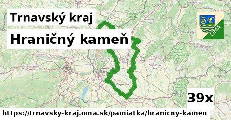 ilustračný obrázok k Hraničný kameň, Trnavský kraj
