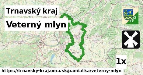 ilustračný obrázok k Veterný mlyn, Trnavský kraj