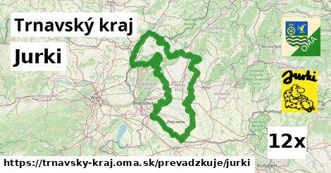 Jurki v Trnavský kraj