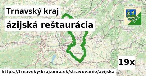ázijská reštaurácia v Trnavský kraj