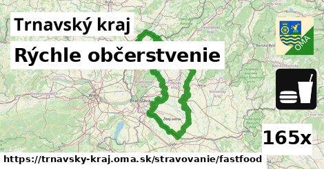 ilustračný obrázok k Rýchle občerstvenie, Trnavský kraj