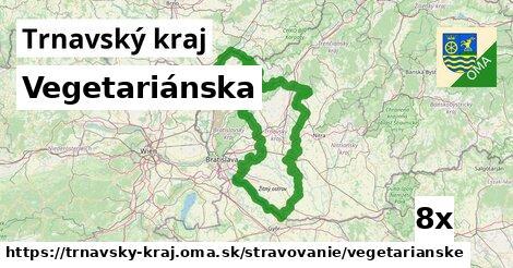 vegetariánska v Trnavský kraj
