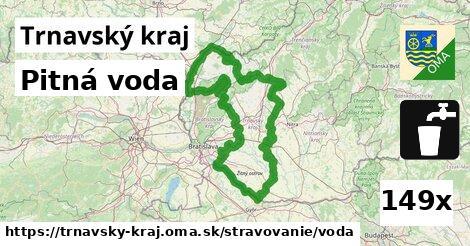 pitná voda v Trnavský kraj