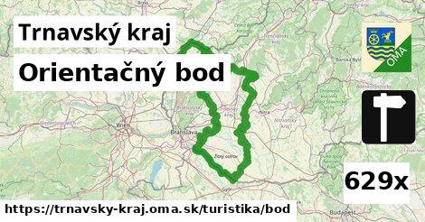 orientačný bod v Trnavský kraj
