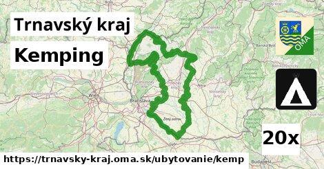 kemping v Trnavský kraj