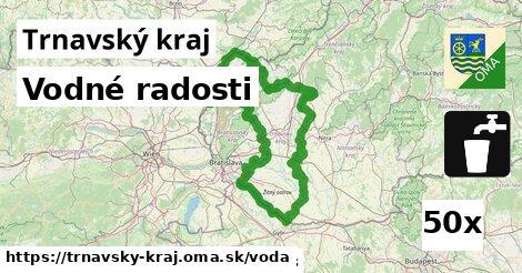 vodné radosti v Trnavský kraj