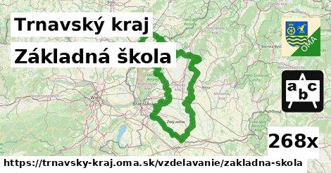 základná škola v Trnavský kraj