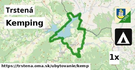 kemping v Trstená