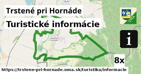 ilustračný obrázok k Turistické informácie, Trstené pri Hornáde