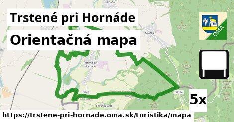 ilustračný obrázok k Orientačná mapa, Trstené pri Hornáde