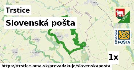 ilustračný obrázok k Slovenská pošta, Trstice