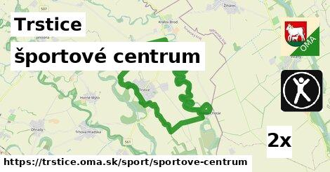 športové centrum v Trstice
