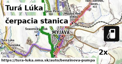ilustračný obrázok k čerpacia stanica, Turá Lúka