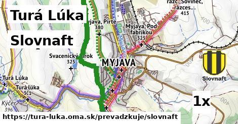 ilustračný obrázok k Slovnaft, Turá Lúka