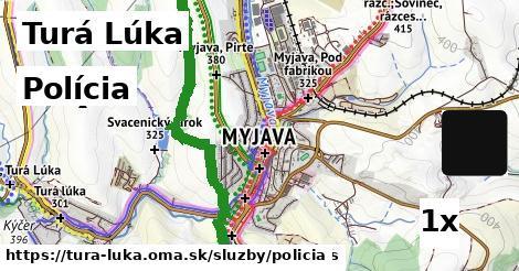 polícia v Turá Lúka