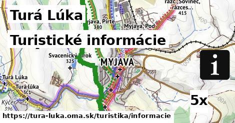 ilustračný obrázok k Turistické informácie, Turá Lúka