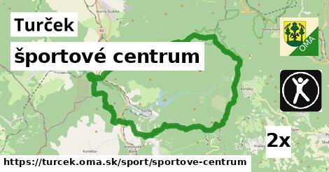 športové centrum v Turček