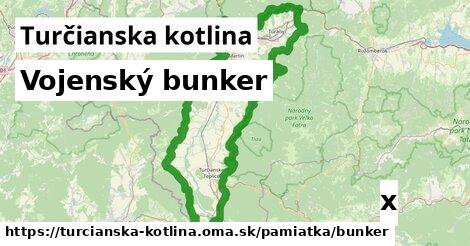 vojenský bunker v Turčianska kotlina