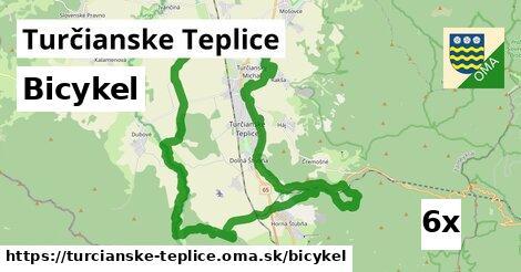 bicykel v Turčianske Teplice