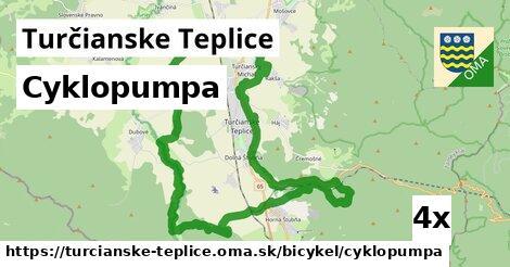 cyklopumpa v Turčianske Teplice