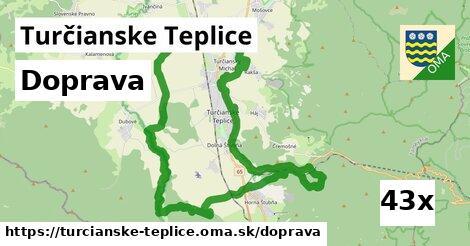 doprava v Turčianske Teplice