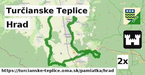 Hrad, Turčianske Teplice