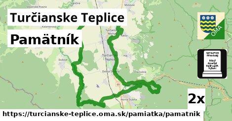 Pamätník, Turčianske Teplice