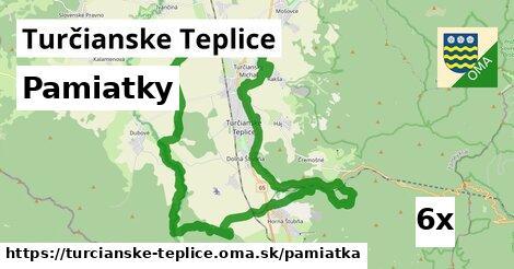 pamiatky v Turčianske Teplice