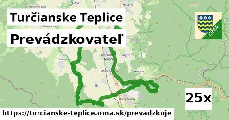 prevádzkovateľ v Turčianske Teplice