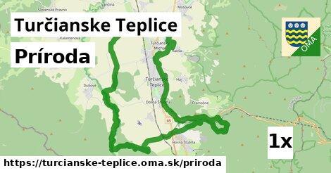 príroda v Turčianske Teplice