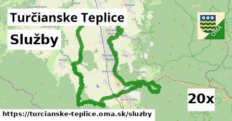 služby v Turčianske Teplice