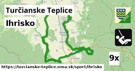 ihrisko v Turčianske Teplice
