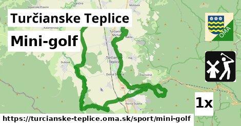 mini-golf v Turčianske Teplice