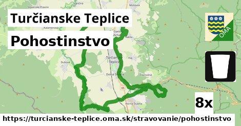 pohostinstvo v Turčianske Teplice