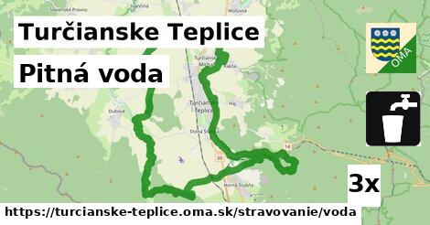 ilustračný obrázok k Pitná voda, Turčianske Teplice