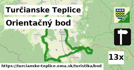 ilustračný obrázok k Orientačný bod, Turčianske Teplice