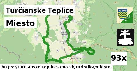 miesto v Turčianske Teplice