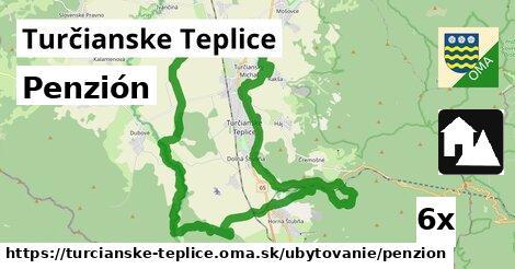 penzión v Turčianske Teplice