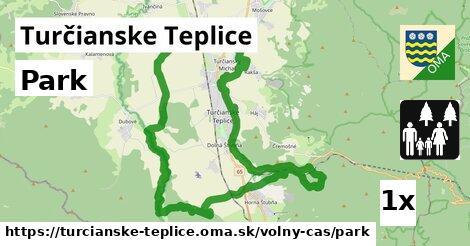 Park, Turčianske Teplice