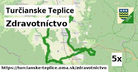 zdravotníctvo v Turčianske Teplice