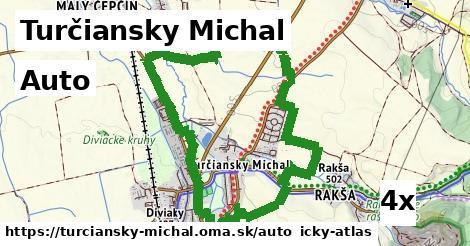 auto v Turčiansky Michal