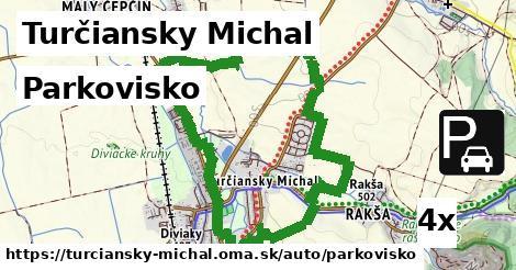 parkovisko v Turčiansky Michal
