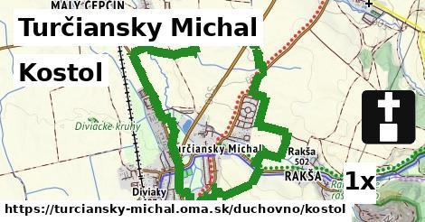 kostol v Turčiansky Michal