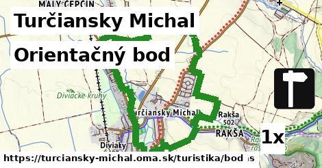 orientačný bod v Turčiansky Michal
