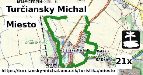 miesto v Turčiansky Michal