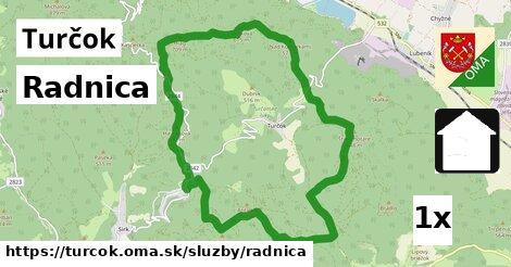 ilustračný obrázok k Radnica, Turčok
